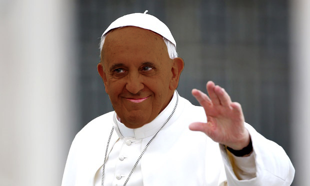 Pope Black Face